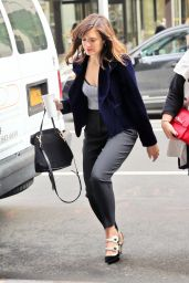 Mandy Moore Style - Out in New York City 9/27/2016
