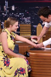Margot Robbie - The Tonight Show Starring Jimmy Fallon 9/29/2016