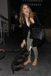 Maria Menounos - Leaving Madeo in West Hollywood, September 2016