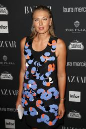 Maria Sharapova – Harpers Bazaar ICONS Party 09/09/2016