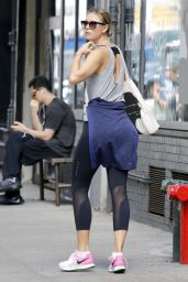 Maria Sharapova in Spandex - Out in New York City 9/11/2016