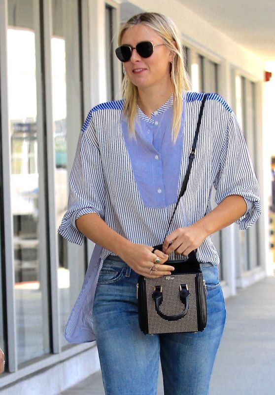 Maria Sharapova Street Style - Los Angeles 9/22/2016