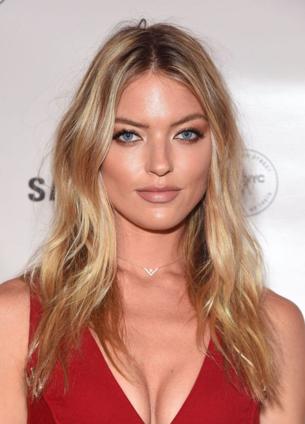 Martha Hunt Charlotte Tilbury X Samsung Event In New