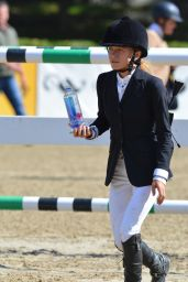 Mary-Kate Olsen - Competes at The American Gold Cup in New York, September 2016
