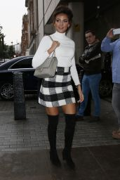 Michelle Keegan Cute Outfit - London, UK 09/19/2016