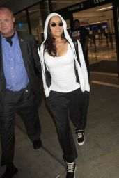 Michelle Rodriguez - Arrives at LAX Airport in Los Angeles 9/16/2016