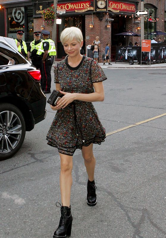 Michelle Williams - Out in Toronto 9/13/2016