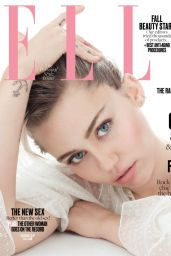 Miley Cyrus - Elle Magazine October 2016 Cover and Photo
