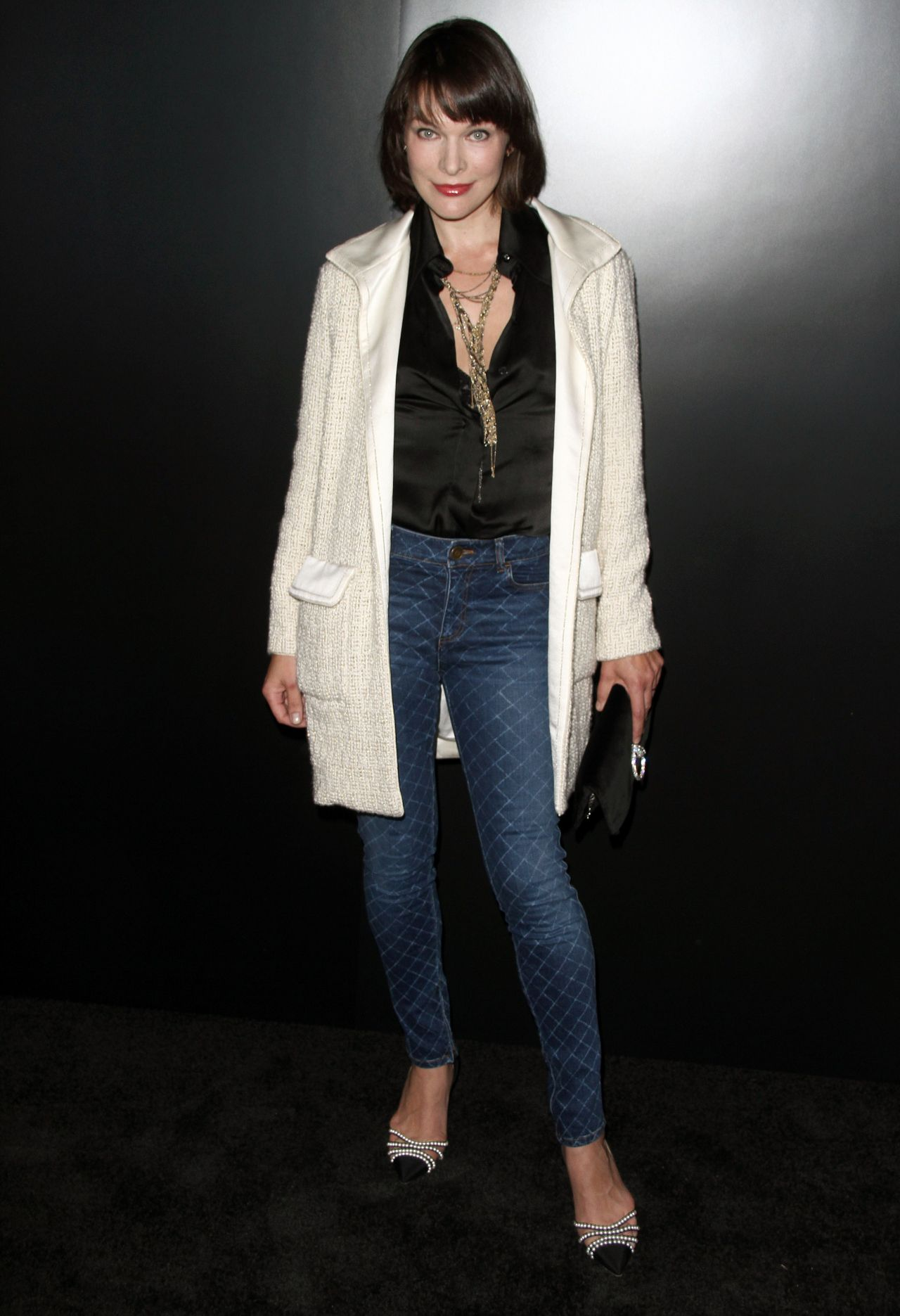 Milla Jovovich – Chanel Celebrates the Launch of 'No.5 L ... Milla Jovovich
