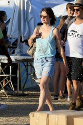 Milla Jovovich in Malibu 9/3/2016