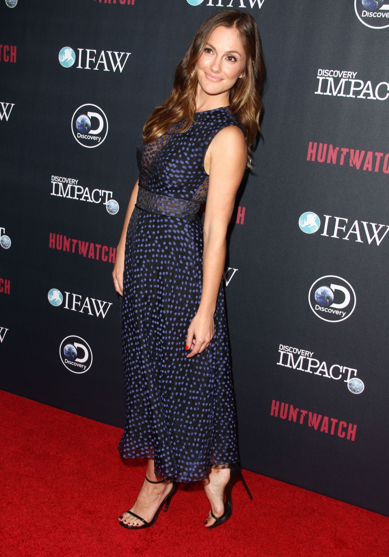 Minka Kelly Huntwatch Special Screening In Los Angeles