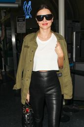 Miranda Kerr at JFK Aarport in NYC 9/23/2016