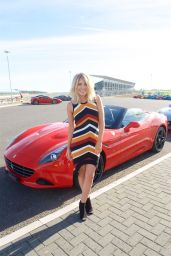 Mollie King - Ferrari California T Experience Day at Silverstone Stowe Circuit, UK 09/23/2016