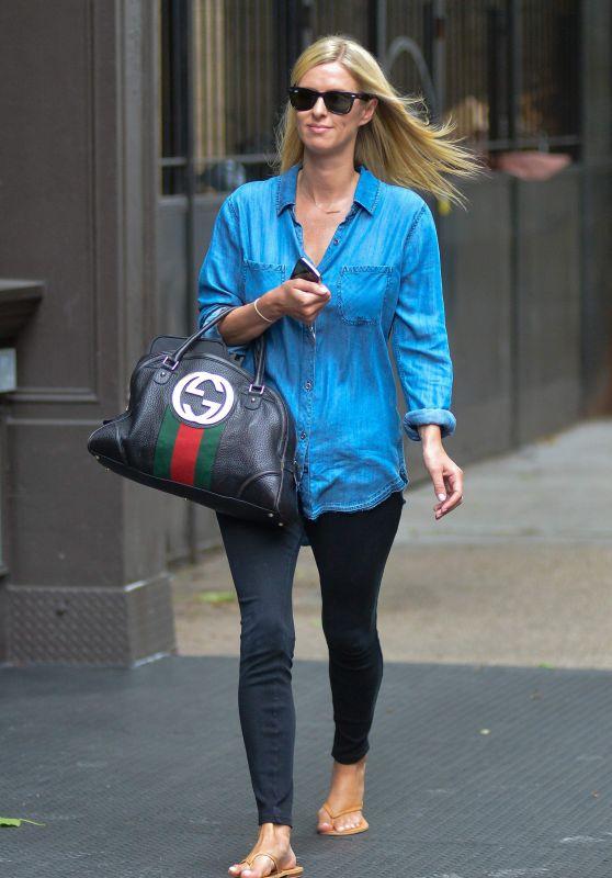 Nicky Hilton Street Style - Manhattan 9/6/2016