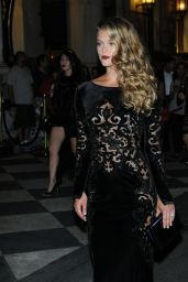 Nina Agdal – Harpers Bazaar Icons Party 09/09/2016