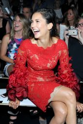 Nina Dobrev - The Marchesa Spring/Summer 2017 Fashion Show - NYFW 09/14/2016