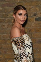Olivia Buckland - April Banbury Catwalk Show S/S 2017 in London 9/18/2016