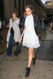 Olivia Culpo – The Marchesa Spring/Summer 2017 Fashion Show in New York City 9/14/2016
