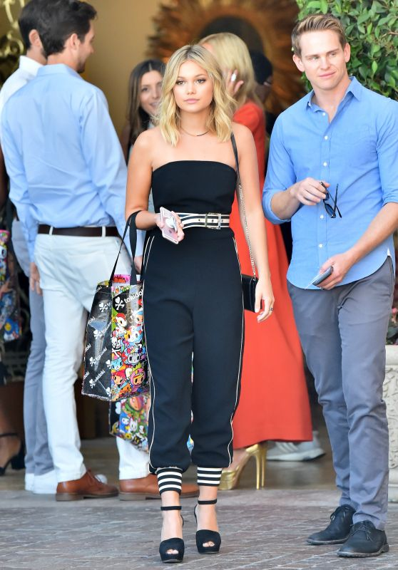 Olivia Holt - Leaving a Hotel in Beverly Hills 9/28/2016