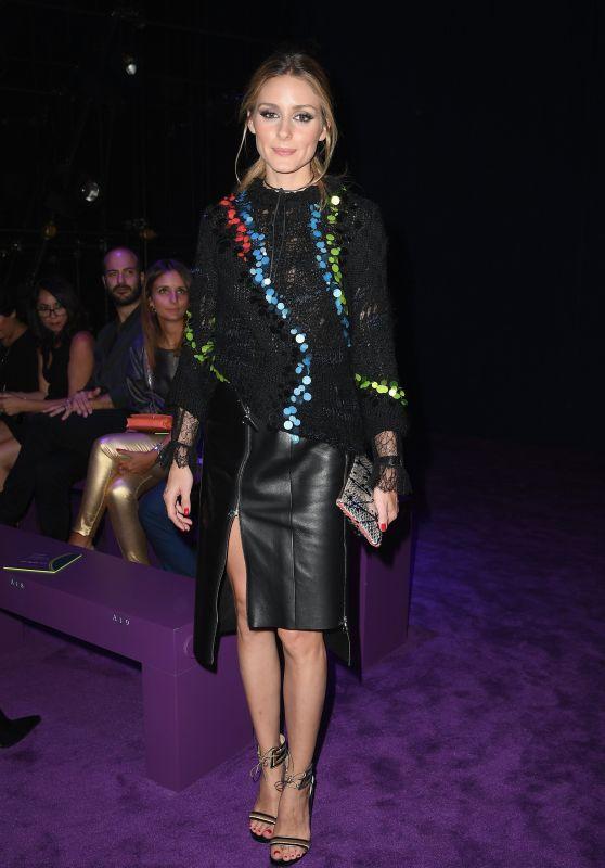 Olivia Palermo - Versace S/S 2017 Show in Milan, September 2016