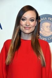 Olivia Wilde - Friars Club Entertainment Icon Award Presentation in NYC 9/21/2016