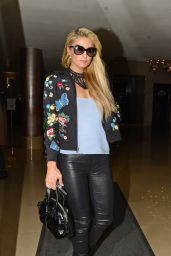 Paris Hilton - Outside a Central London Hotel 9/28/2016