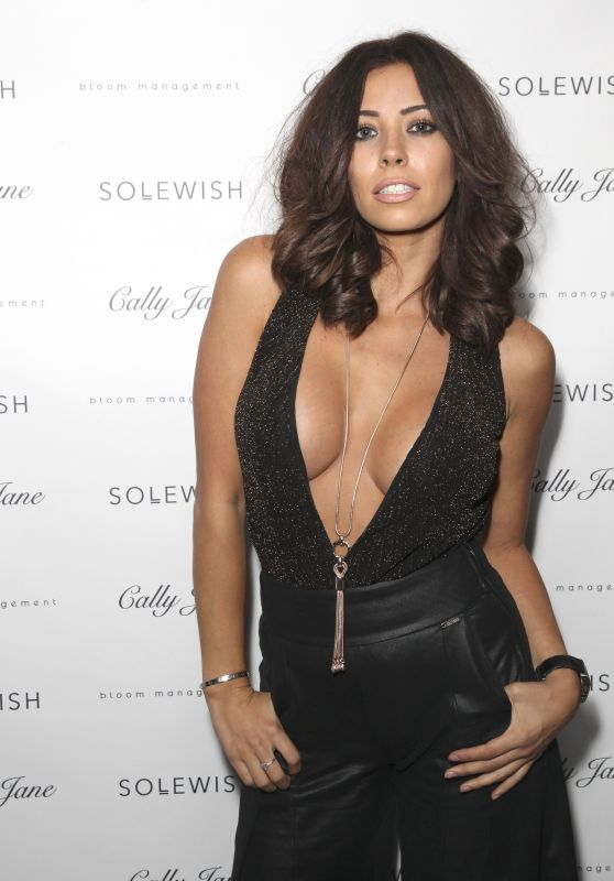 Pascal Craymer - Cally Jane by Solewish Launch Party in London 9/27/2016
