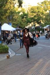Phoebe Price - Shopping at the Grove in Hollywood 9/21/2016