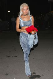 Pia Mia - Arriving at the Drake and Future Concert in Inglewood 9/29/2016