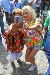 Pixie Lott - Filming a Video for
