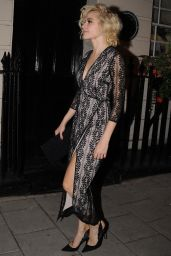 Pixie Lott is Stylish - Leaving the Hayemarket Theatre in London 09/12/2016