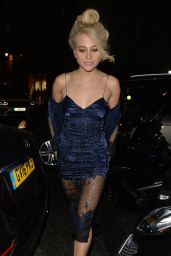 Pixie Lott - Leaves the Haymarket Theatre in London 9/8/2016