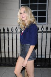 Pixie Lott - Leaving the Hayemarket Theatre in London 9/15/2016