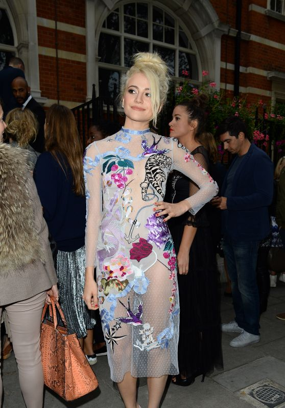 Pixie Lott - Temperley Fashion Show in London 9/18/2016