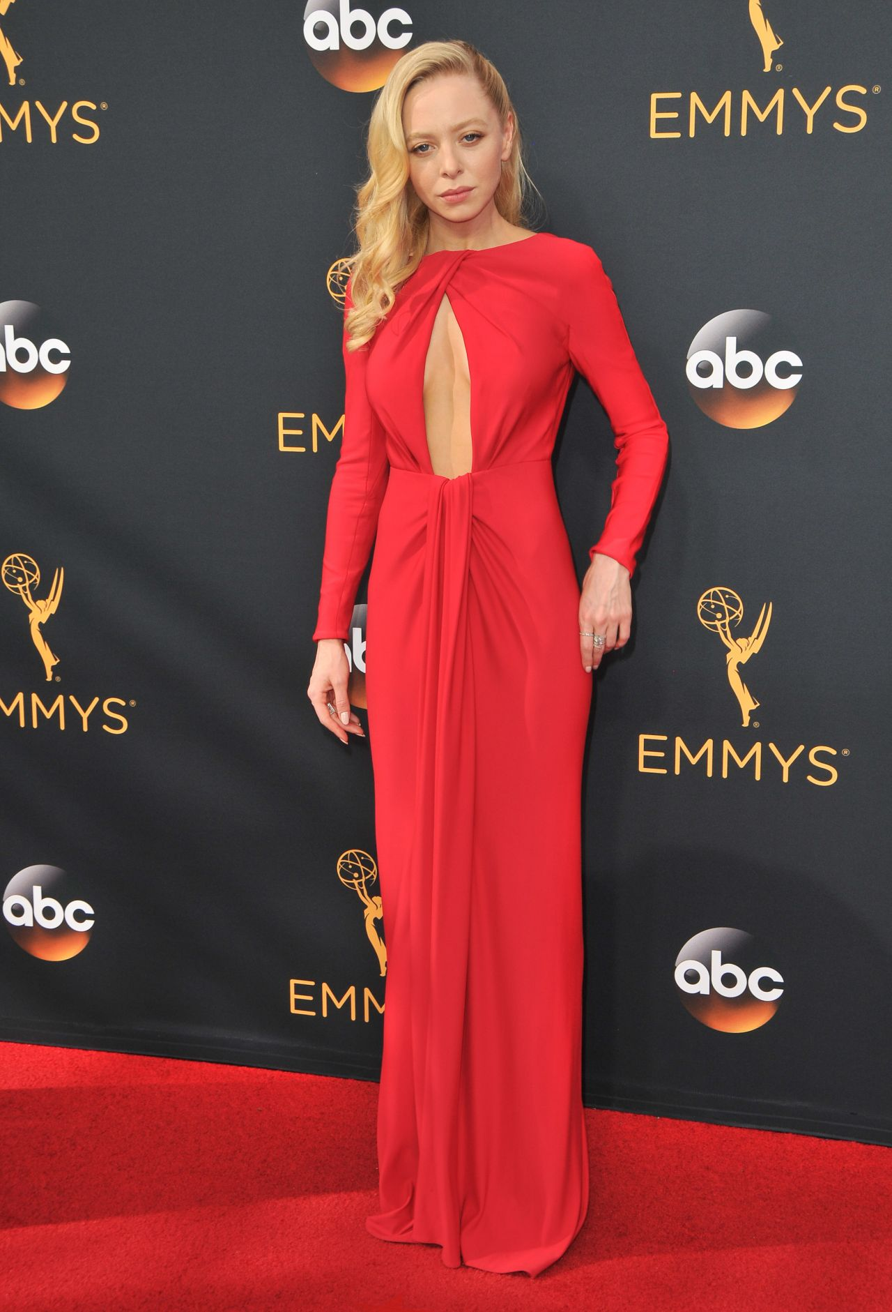Portia Doubleday - 68th Annual Emmy Awards in Los Angeles 09/18/2016 • CelebMafia