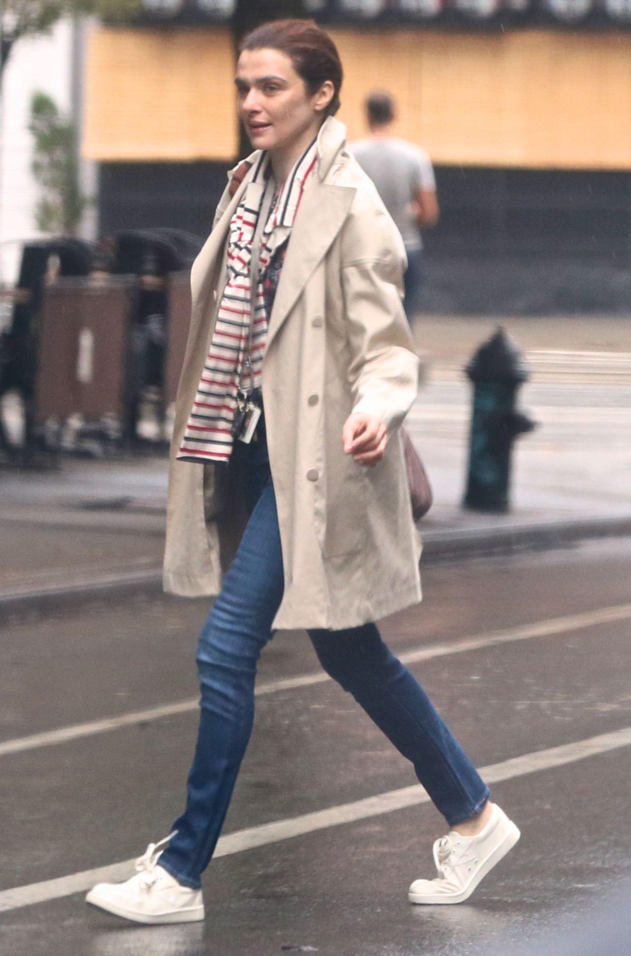 Rachel Weisz Street Style