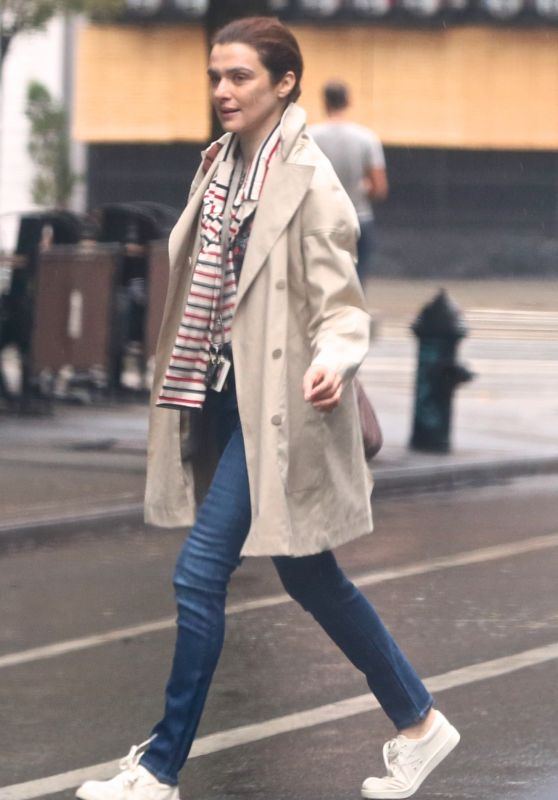 Rachel Weisz Street Style - New York City 9/1/2016