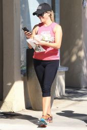 Reese Witherspoon - Leaving a Gym in Brentwood 9/25/ 2016