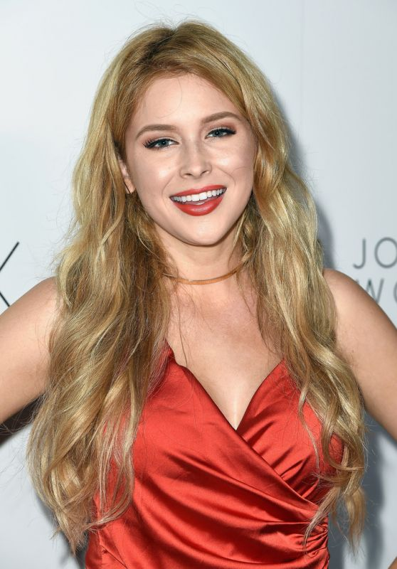 Renee Olstead - Boohoo X Jordyn Woods Fashion Event in Hollywood 8/31/2016