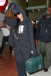 Rihanna at Charles de Gaulle Airport in Paris 9/25/ 2016