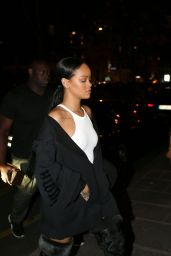 Rihanna - Out in Paris 9/29/ 2016