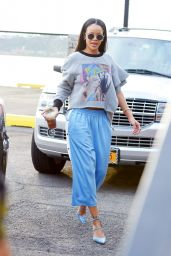 Rihanna Street Style - Out in NYC 9/2/2016