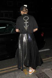 Rita Ora Leaving a Recording Studio in London 9/15/2016