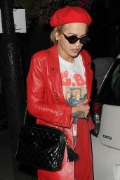 Rita Ora - Leaving a Recording Studio in London 9/21/2016