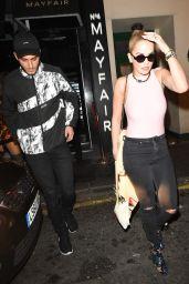 Rita Ora - Leaving a Recording Studio in London 9/22/2016