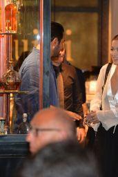 Rita Ora - Out for Dinner at the Restaurant Pierluigi in Rome 9/2/2016