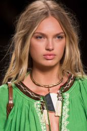 Romee Srijd - Etro S/S 2017 Show in Milan, September 2016