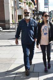 Rosalind Ross & Mel Gibson Stroll in Dublin, Ireland 9/22/2016