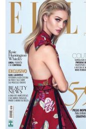 Rosie Huntington-Whiteley – Elle Magazine Brazil September 2016 Cover
