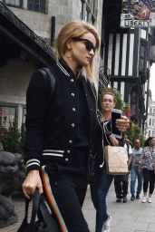 Rosie Huntington-Whiteley Shops at Liberty in London 9/21/2016